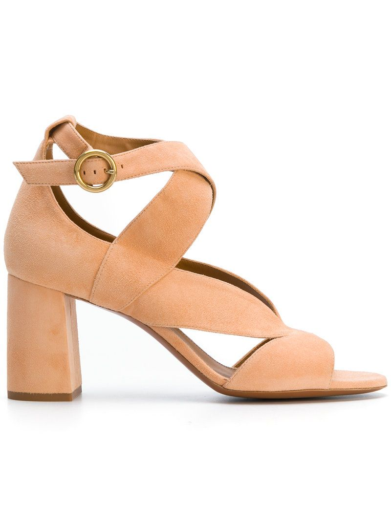 Chloé Suede Crossover Sandals classic sale big discount pictures for sale 49WlBLh49