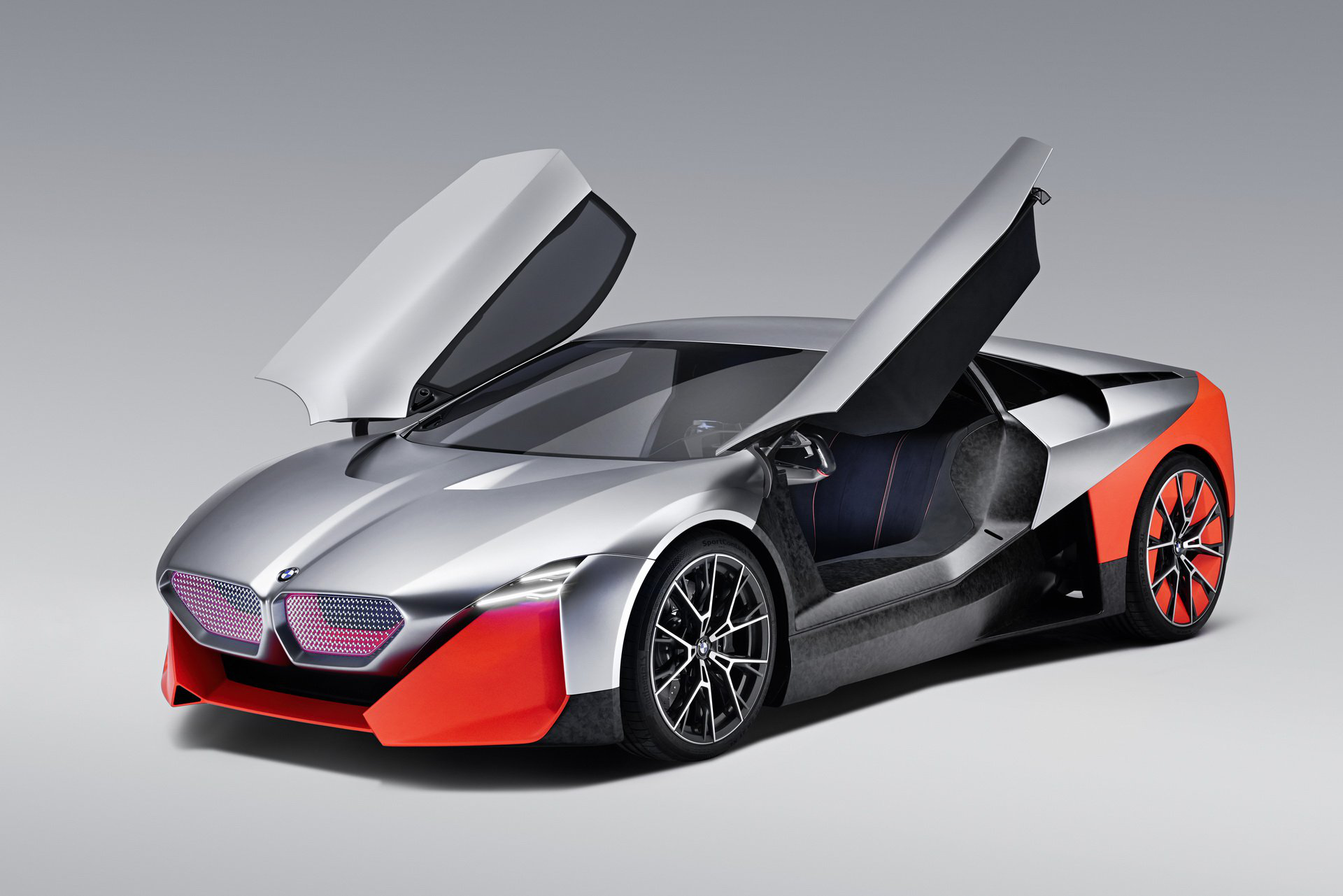 Bmw I3 And I8 To Be Killed Vision M Next Might Hit Production Carmojo The Hybrid Sports Car Concept Gets 600 Hp Super Cars Bmw Concept Hybrid Sports Car