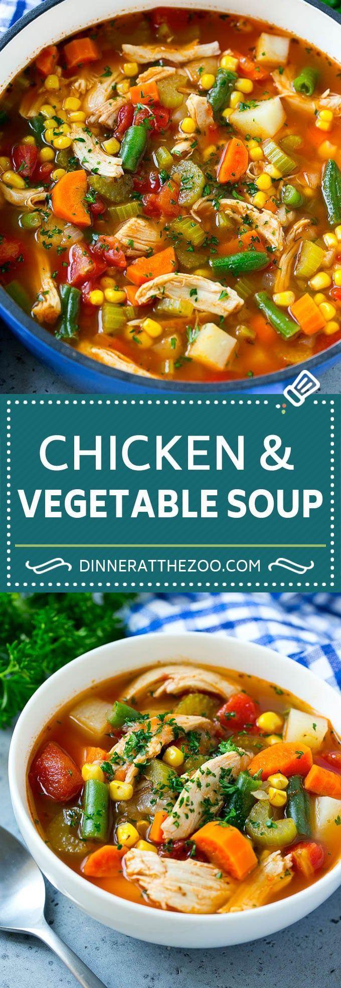 Chicken Vegetable Soup Chicken Vegetable Soup