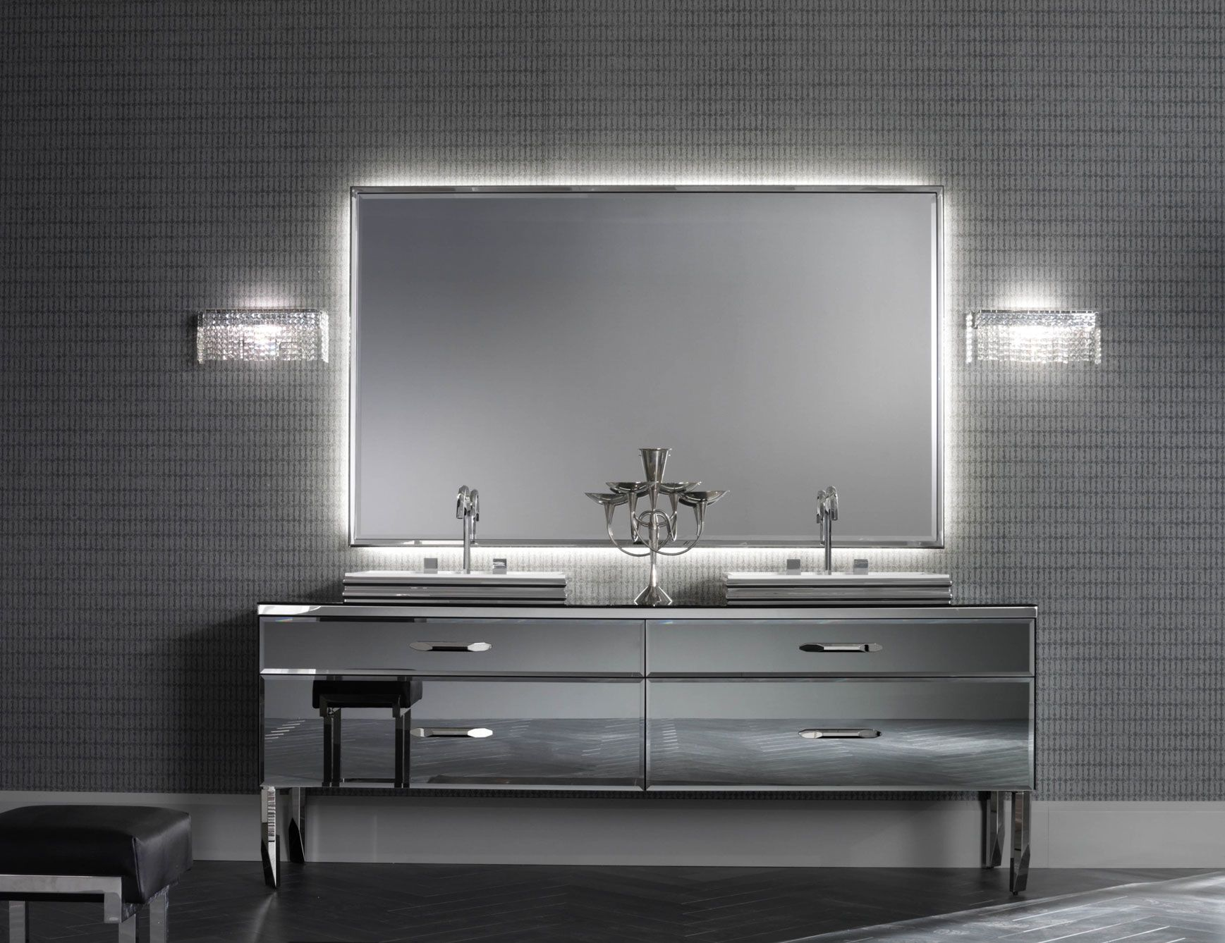 Bathroom Vanities Design Ideas Magnificent Upscale Vanties  Designer Italian Bathroom  Pearl Plslace Up Design Ideas