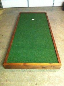 Indoor Putting Green | Indoor putting green, Golf putting ...