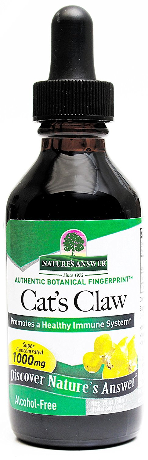 Nature S Answer Alcohol Free Cat S Claw Inner Bark 2 Fluid Ounces See This Great Product Immune System Boosters Natural Immune System Boosters Alcohol Free