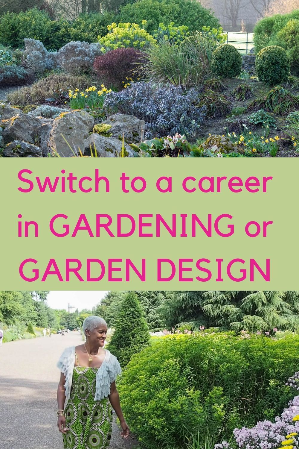 How To Change Your Life With A Gardening Career The Middle Sized Garden In 2020 Horticulture Gardening Blog Garden Design
