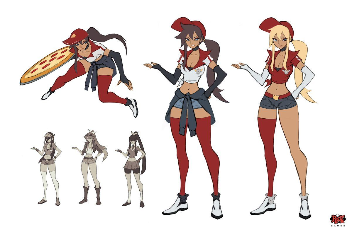 Liyart On League Of Legends Poppy Character Design Pizza