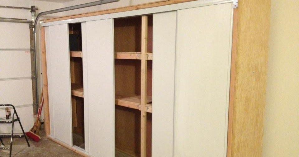 Anthony Valentino Diy Garage Storage With Sliding Doors Diy