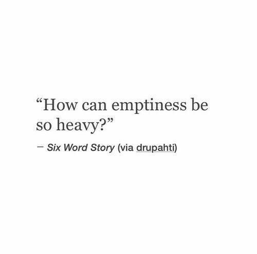 Emptiness ... discovered by Chinel ⸎⟁⟐ on We Heart It