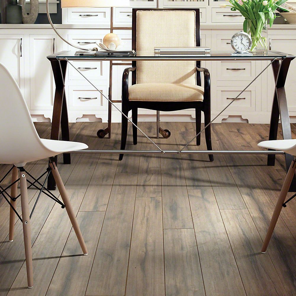 "Lincolnshire 5"" x 51"" x 12mm Hickory Laminate Flooring"
