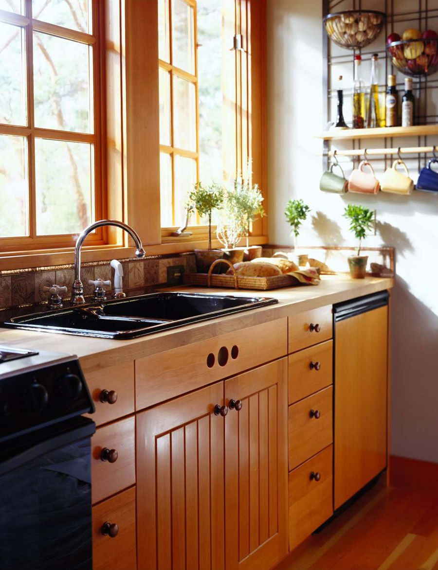 Orcas Island cabin kitchen | Kitchens | Pinterest | Cabina, House y ...