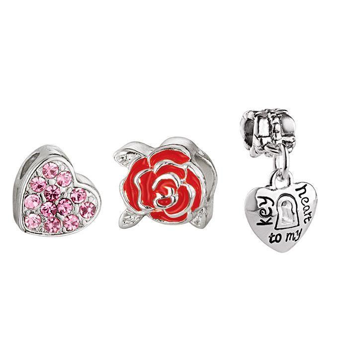 Cherished Memories Love Charms   AVON #Avon #Jewelry #charms  - Shop for Avon Jewelry at:  https://www.avon.com/category/jewelry?rep=barbieb