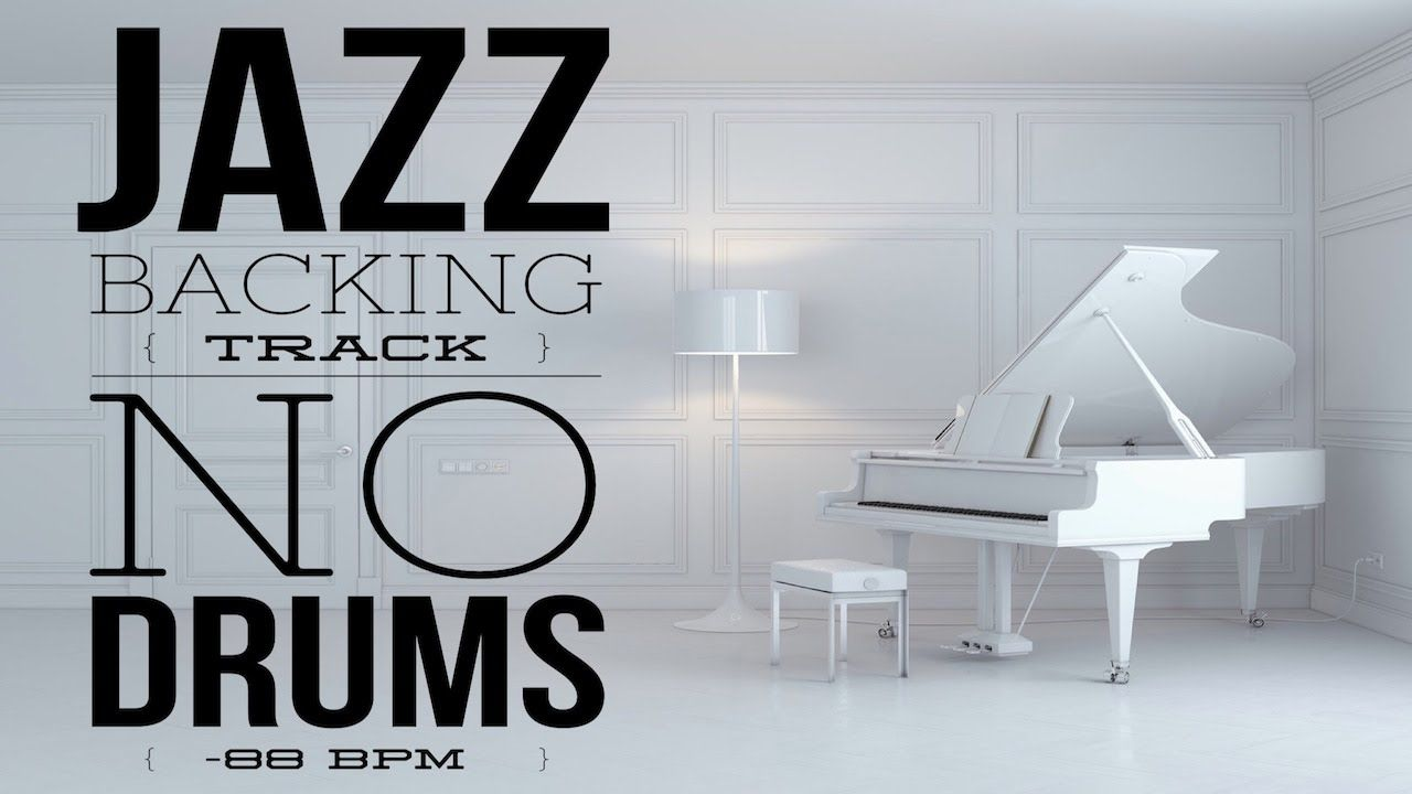 Jazz Backing Track No Drums No Lead 88 BPM | Jazz Backing