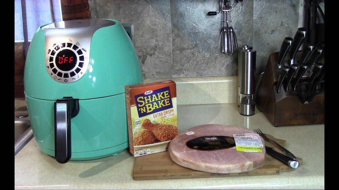 Shake N Bake Air Fried Ham Steak | Air Fryer | Pinterest | Ham ...