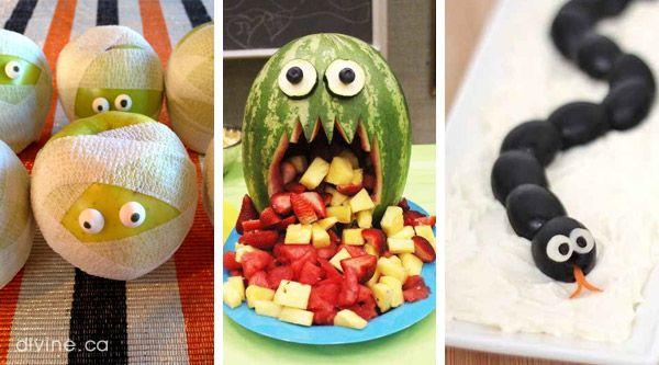 6 healthy Halloween snacks