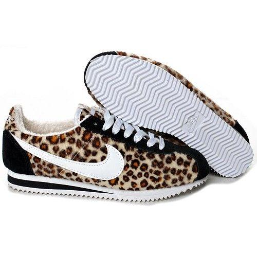 le dernier f1e1c d970d Leopard Printed Nike cortez | MY ISY STYLE... | Chaussures ...