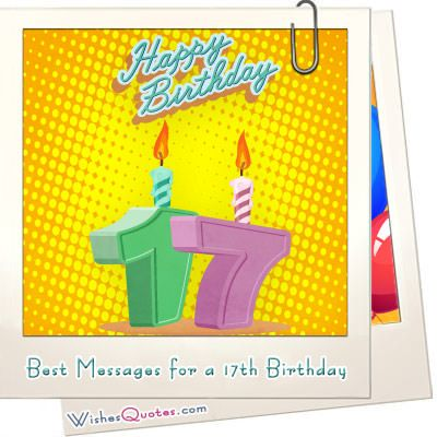 Heartfelt 17th Happy Birthday Wishes and Images   17 birthday