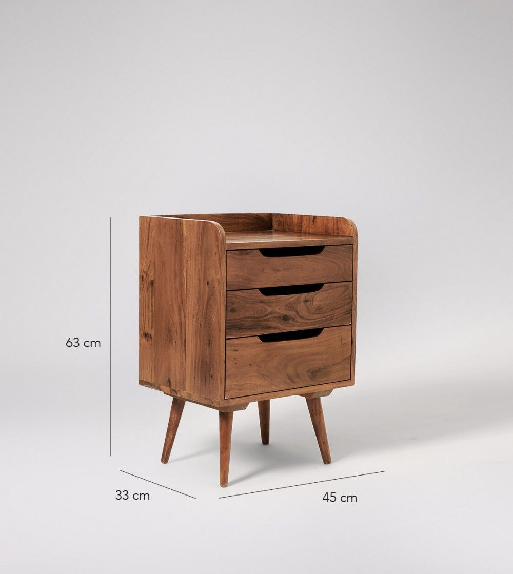 Best Randall Table Mid Century Furniture Bedside Cabinet 400 x 300