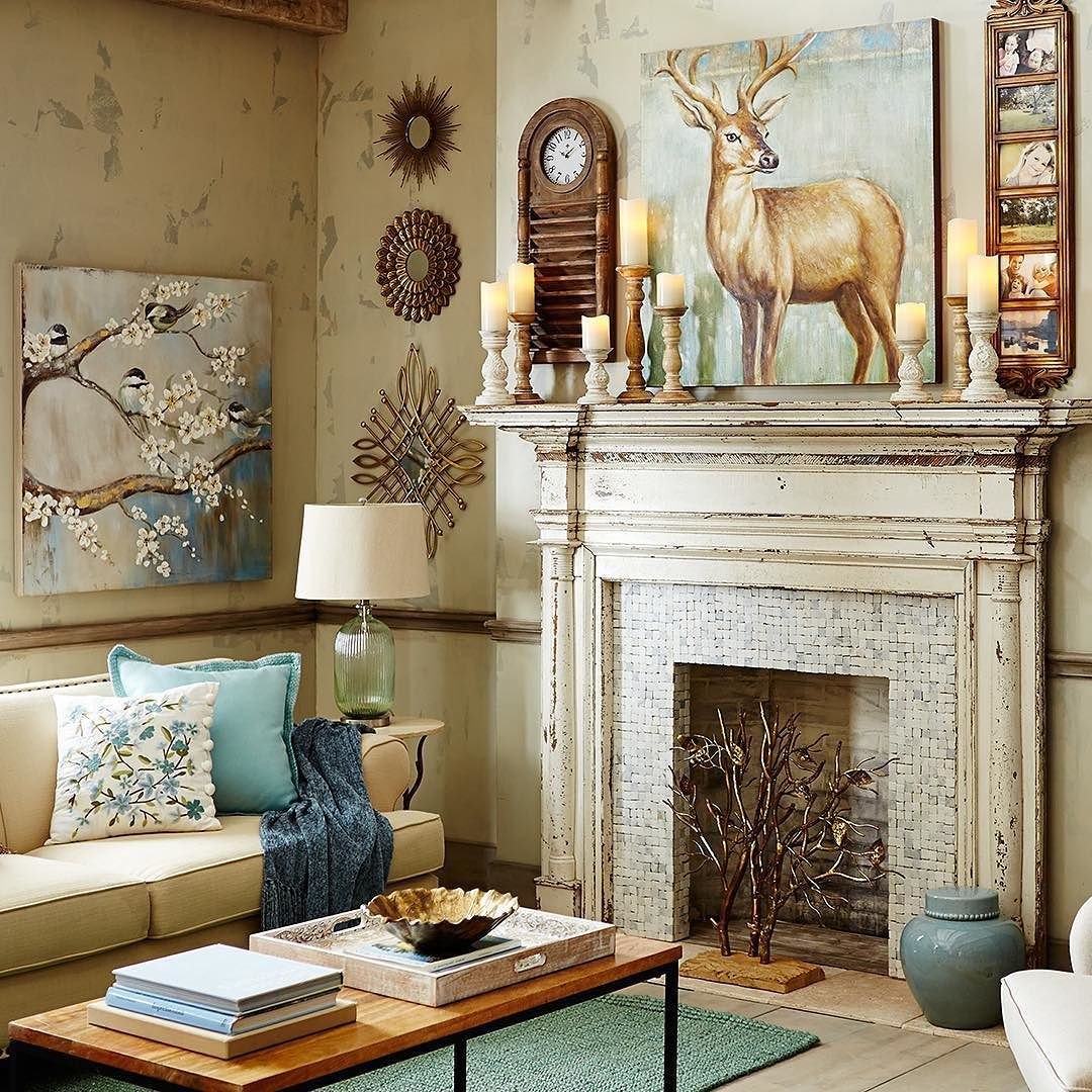 A few natural touches from Pier1 can