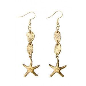 Alkemie + Nugget & Starfish Earrings