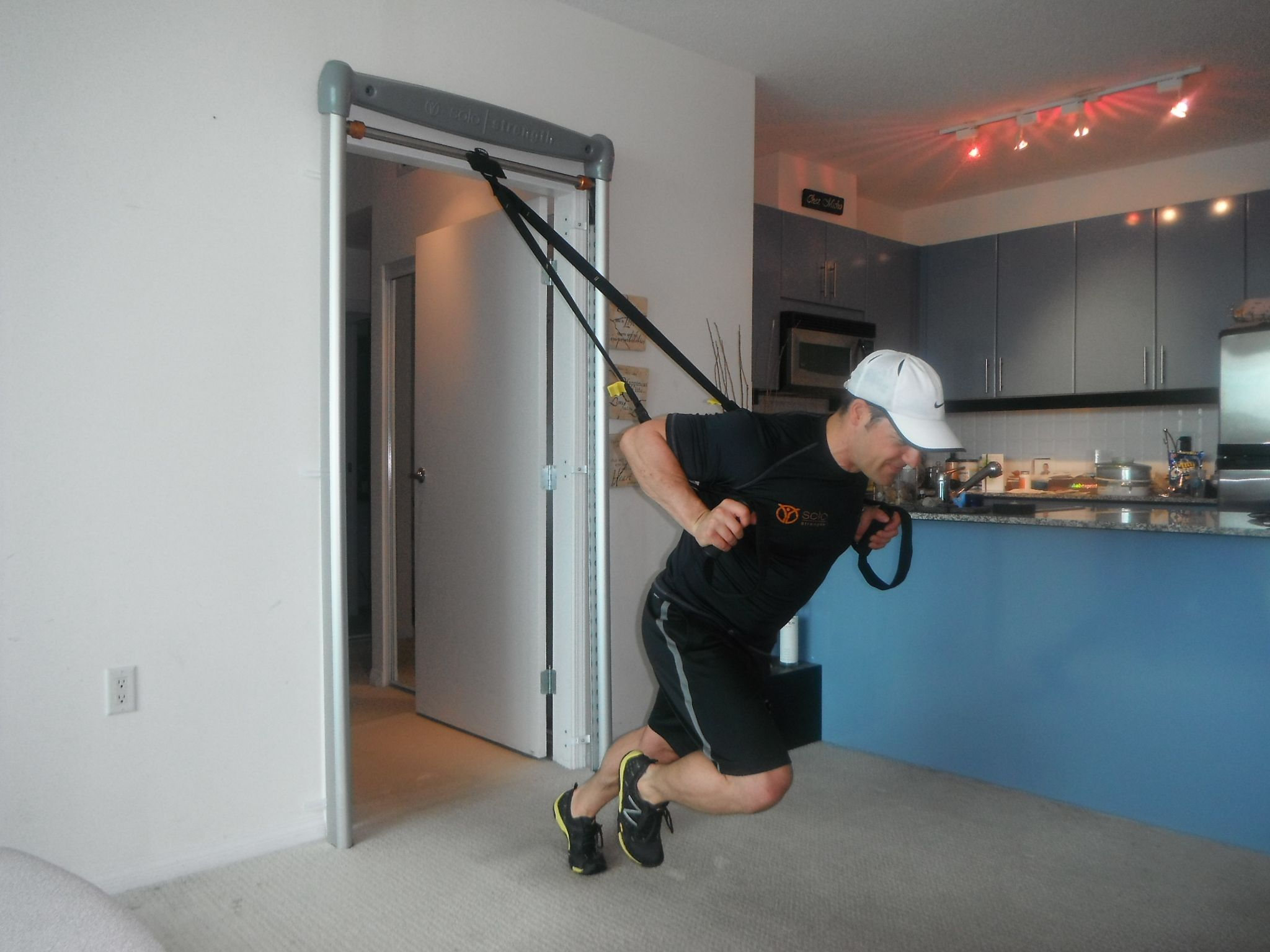 SoloStrength SpeedFit Frame Doorway Gym also Anchor Solution for TRX ...