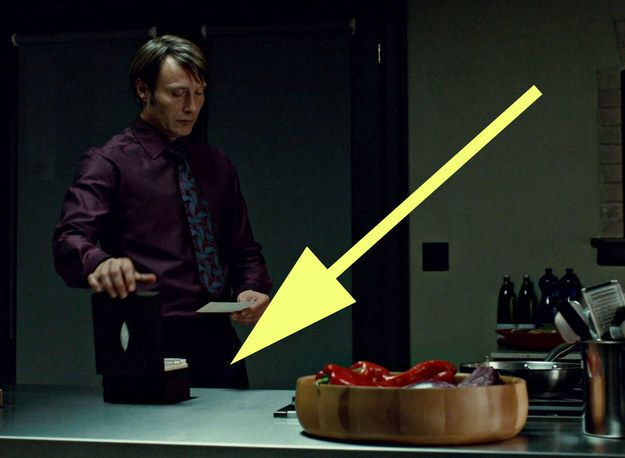 """But luckily, there's something to dry those tears: An auction of all the amazing props from the show. Like this recipe box with ACTUAL recipes that Hannibal used. 