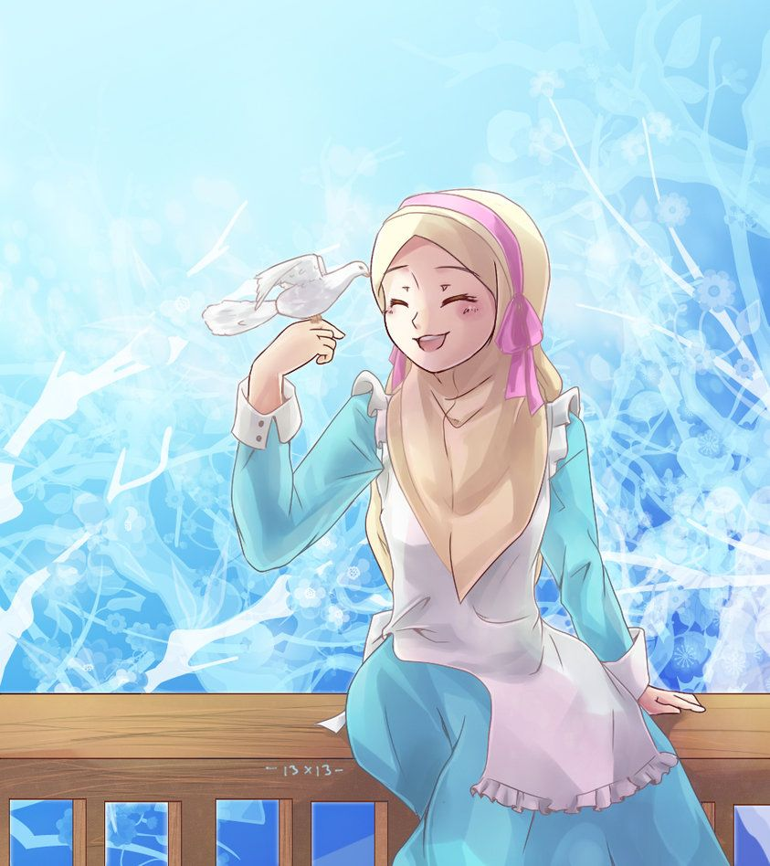 403 Forbidden Anime muslim, Hijab cartoon, Girl cartoon