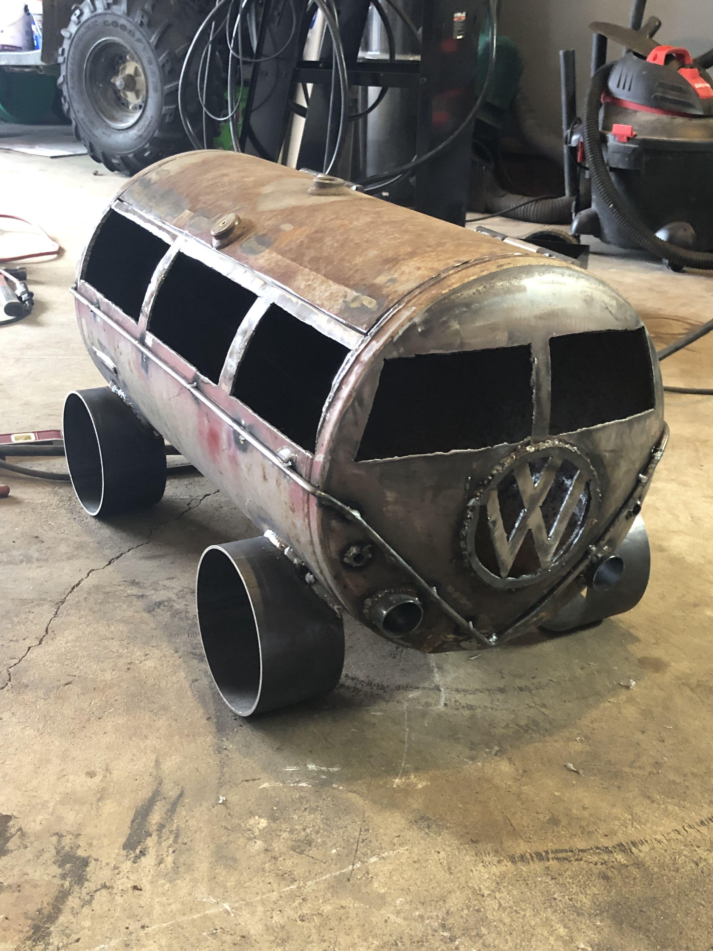 Pin by Dewey Jones on VW Bus air/propane tank Propane