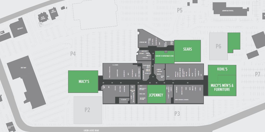 Pin On Mall Maps
