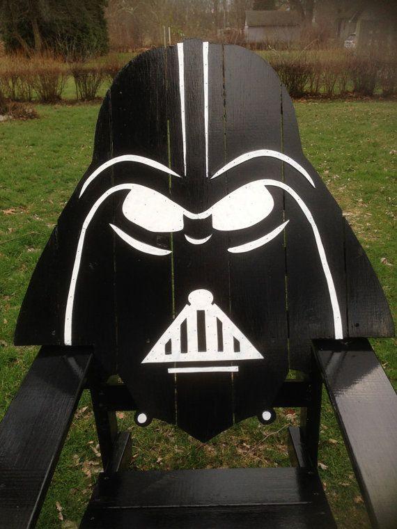 Darth Vader Adirondack Chair Painted Version Star Wars