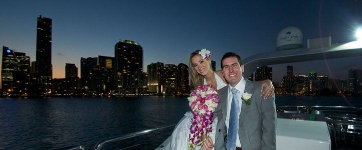 Marion And Elliot S Miami Yacht Wedding Meets Fashion