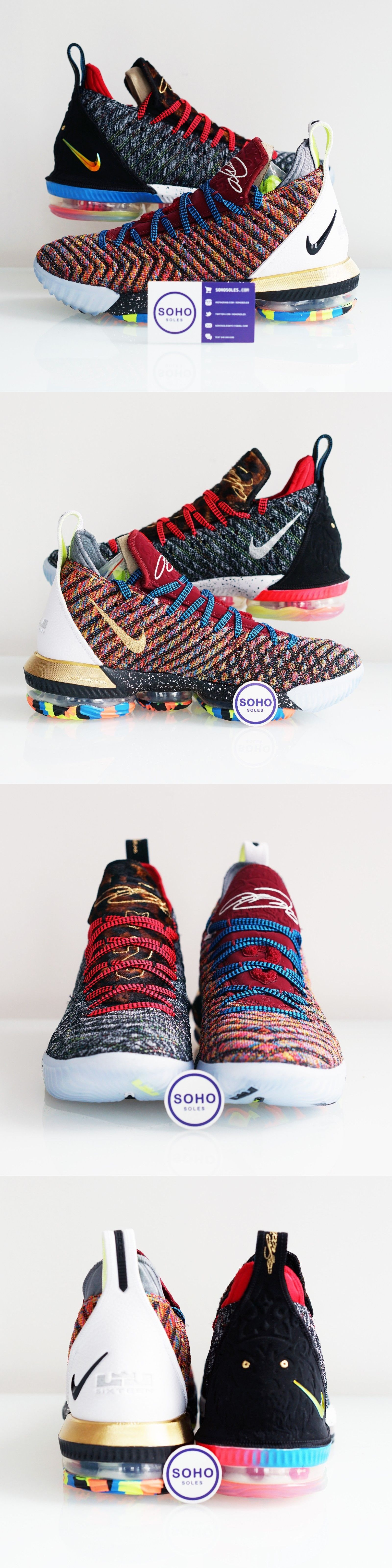 45a495d5067cc Mens Shoes 93427  Nike Lebron Xvi 16 Lmtd What The 1 Thru 5 Bq6580-900 Size  8-13 Ships Now -  BUY IT NOW ONLY   338.88 on eBay!