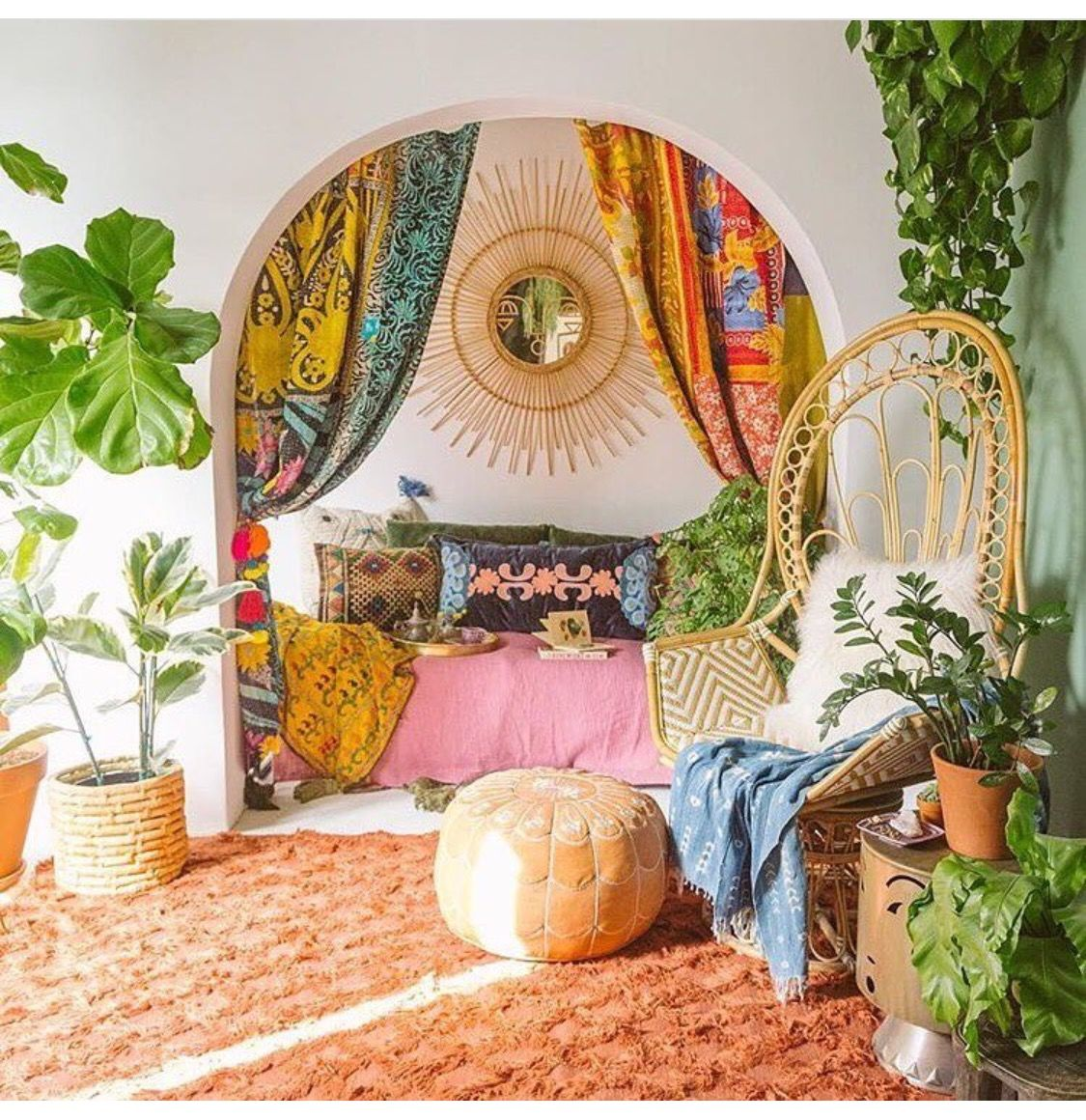 Arredamento Stile Hippie pin di sasha allegre su idées déco | arredamento boho, idee
