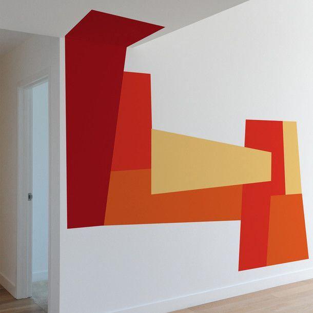 Decorazioni geometriche per pareti pagina 3 fotogallery for Decorazioni moderne pareti