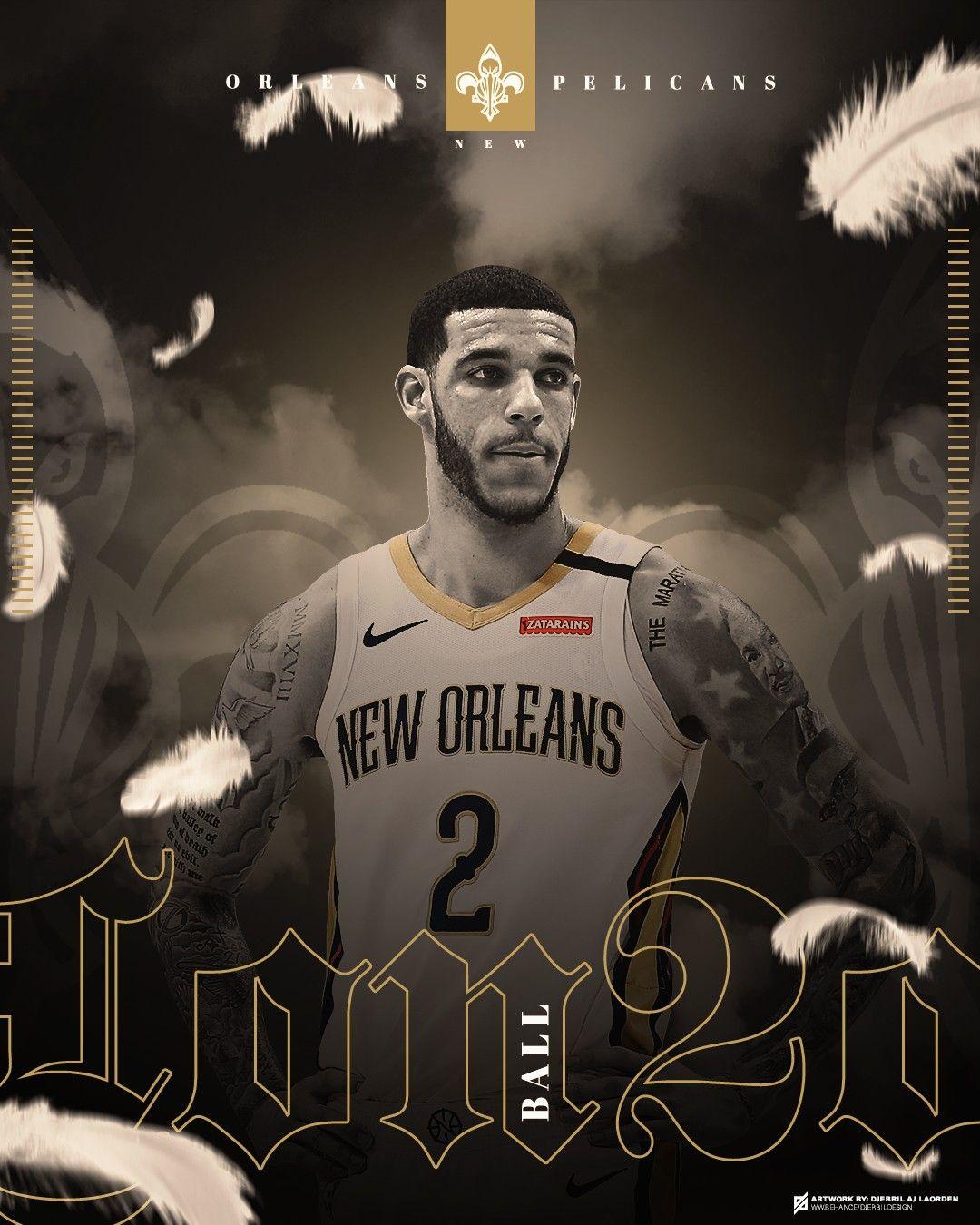 LONZO BALL NBA art em 2020