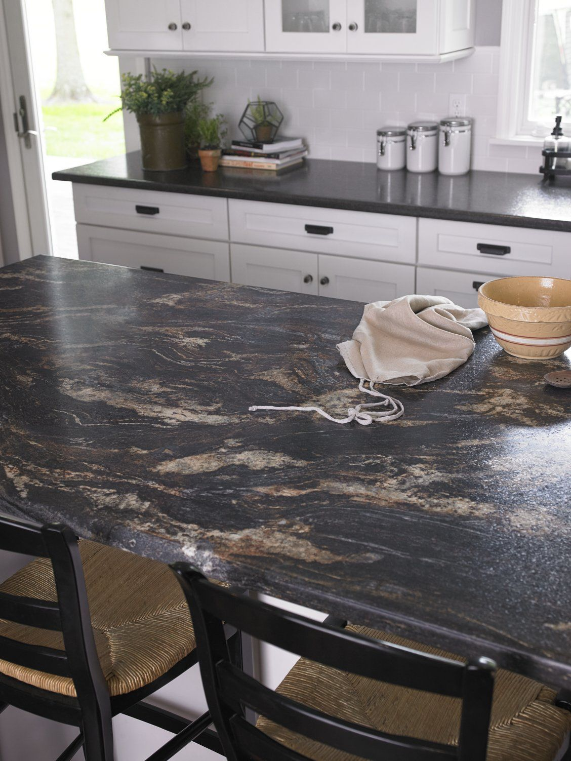 Large Kitchen With 180fx Laminate Blue Storm Island Click Through