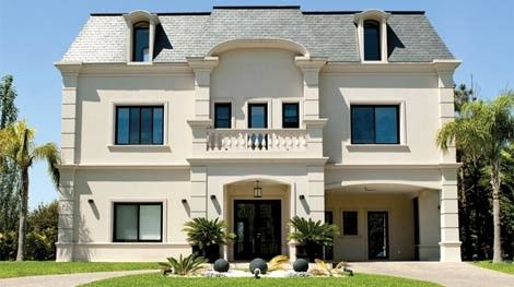 Chapeau estilo franc s franceses y fachadas for Casas estilo frances clasico