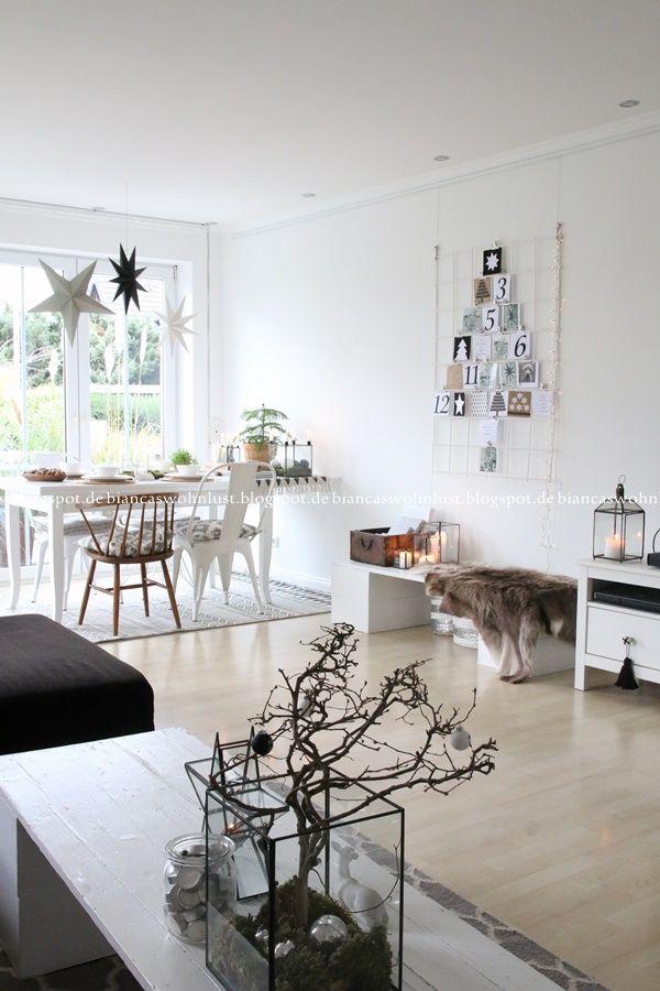 Wohnlust: Weihnachtliches Wohnzimmer | Merry Christmas! | Wohnzimmer ...