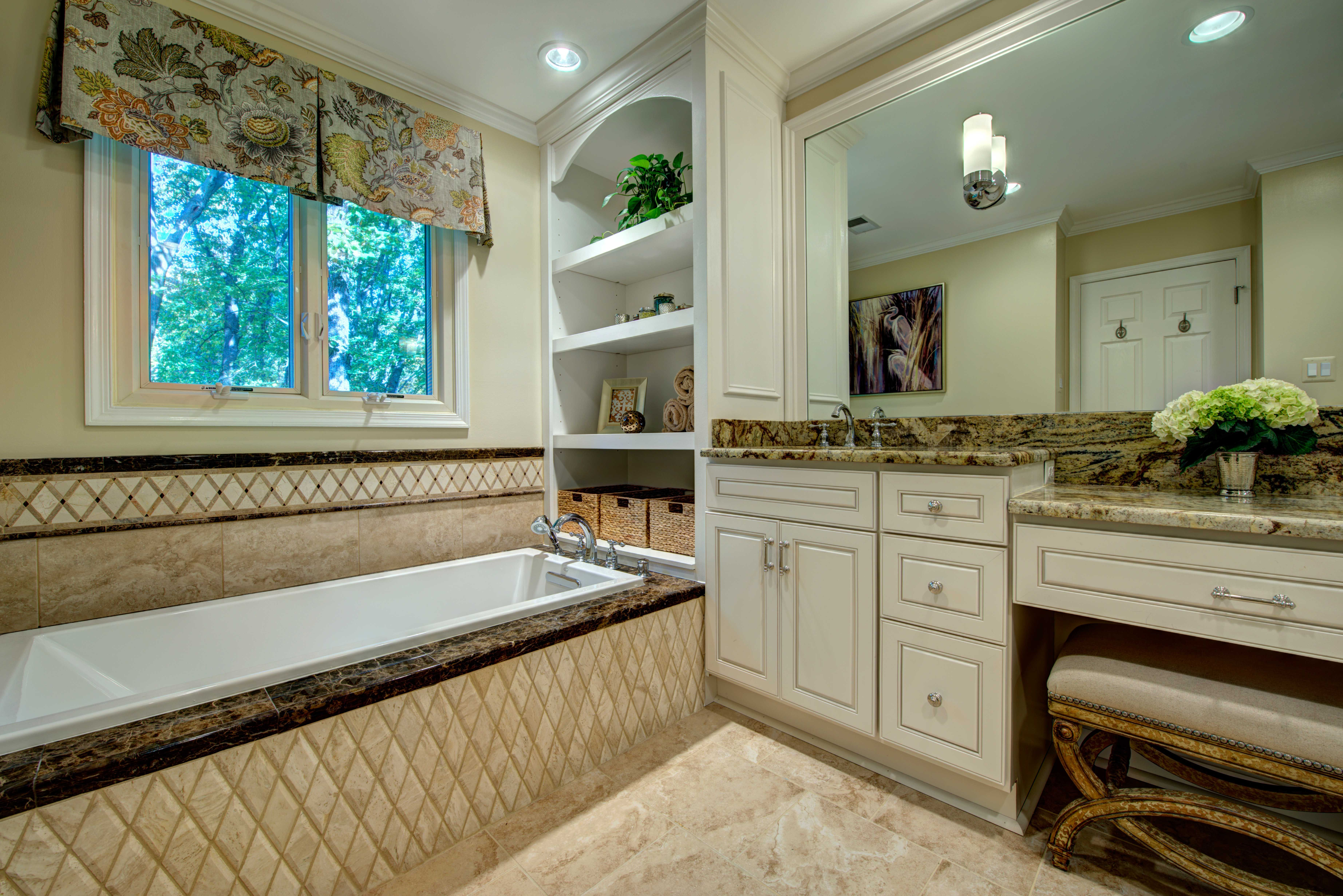 In this Northern Virginia master suite remodel,