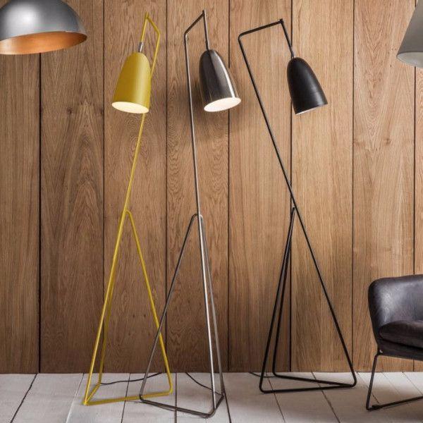 Bamboo Orbital Pendant Light Contemporary Floor Lamps Cool Floor Lamps Black Floor Lamp