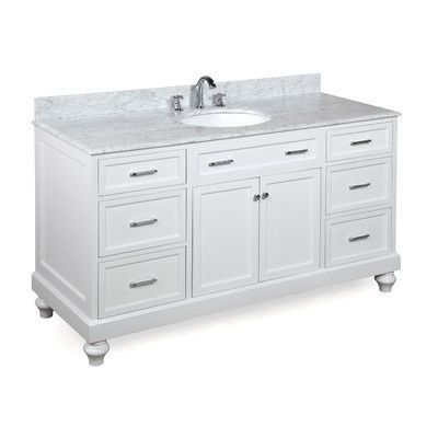 Kbc Amelia 60 Single Bathroom Vanity Set Base Finish Bathroom