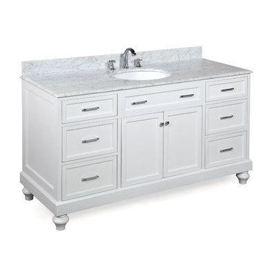 Kbc Amelia 60 Single Bathroom Vanity Set Base Finish Bathroom