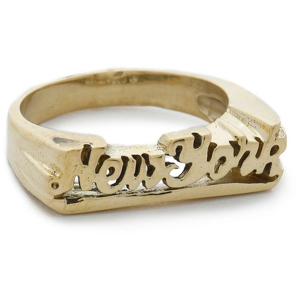 SNASH JEWELRY New York Ring 55 liked on Polyvore featuring
