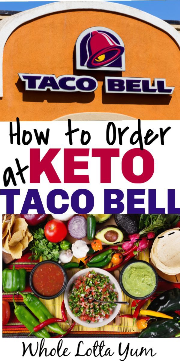 The Best Keto Taco Bell Ordering Tips images