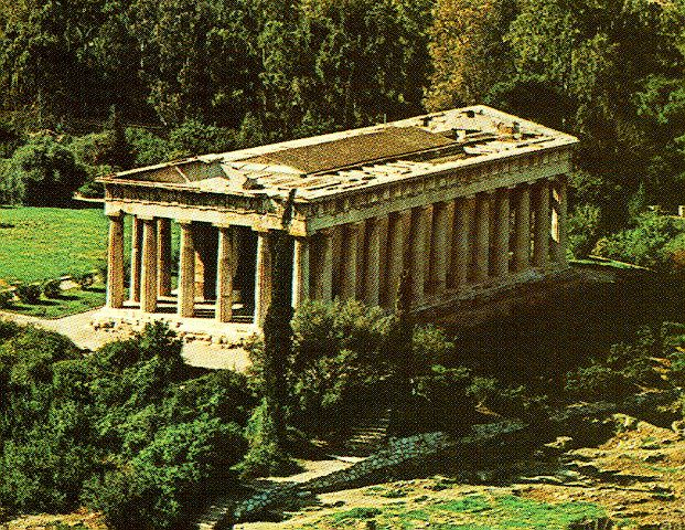Visit Greece Archaeological Site Of Ancient Agora Temple Of