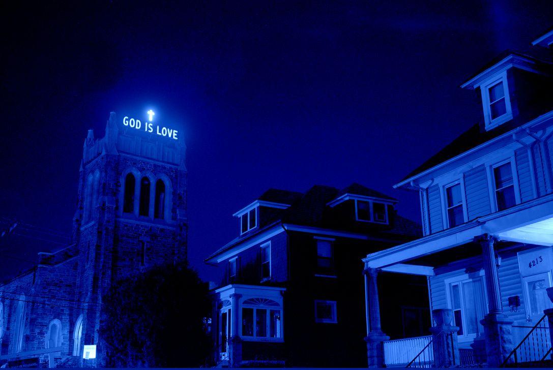 God is love Blue aesthetic, Blue aesthetic tumblr, Blue