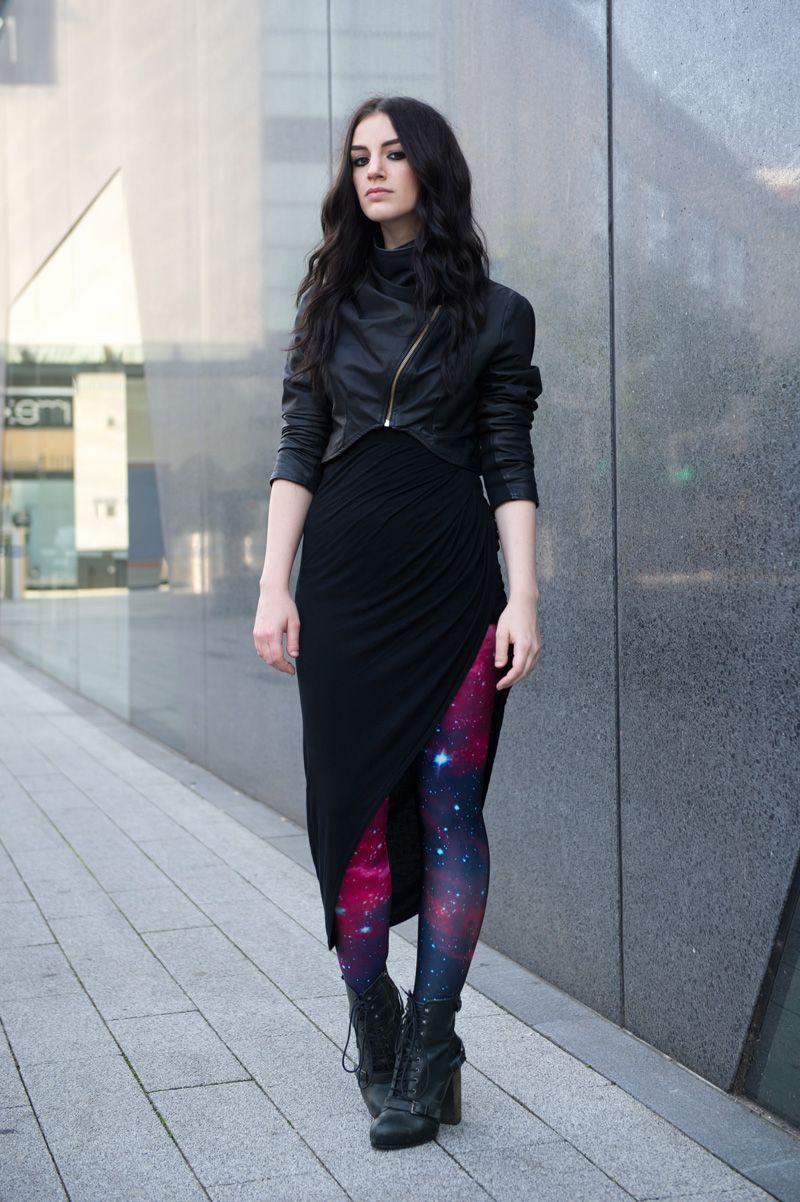 Fashion blogger Stephanie of FAIIINT wearing handmade ...