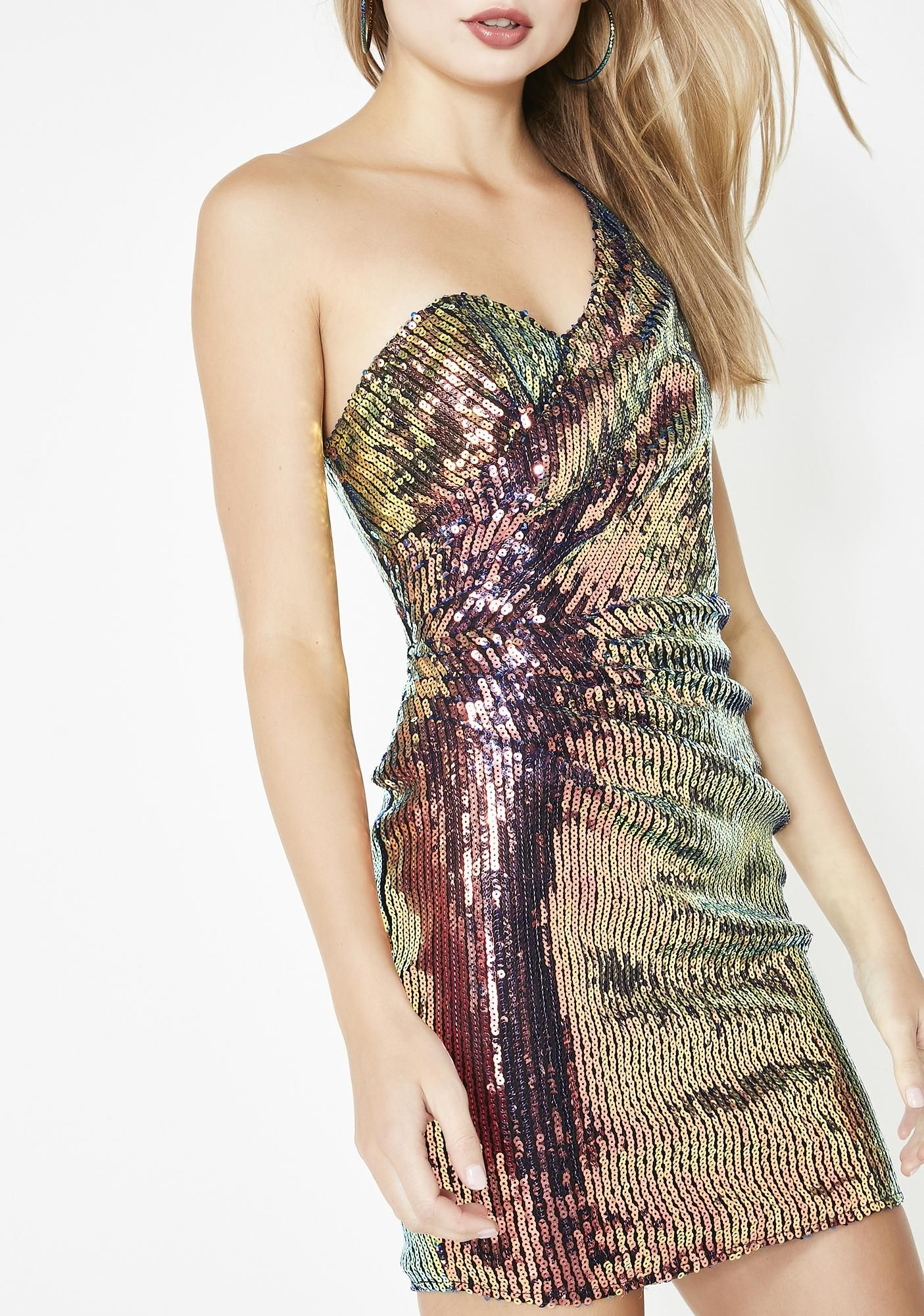 5610b55f39 Life Of The Party Sequin Dress