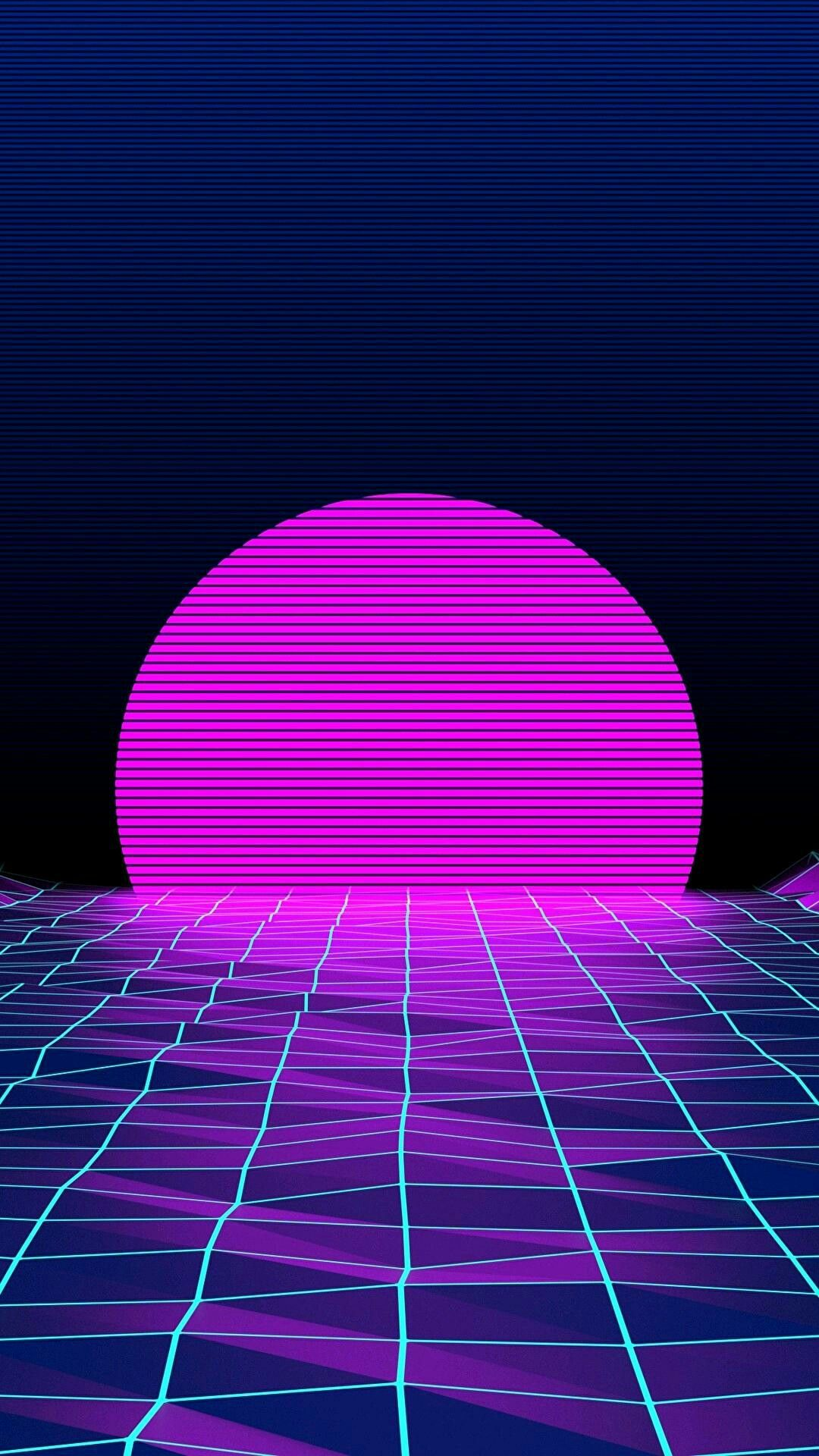 Vaporwave Wallpaper Indie Art Graphic Iphone Wallpapers Panda Fantasy Style Purple Aesthetic Trippy