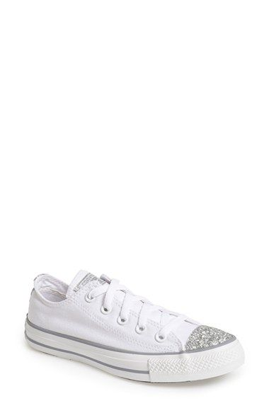 916da424ea0366 Converse Chuck Taylor® All Star®  Sparkle Ox  Low Top Sneaker (Women)  available at  Nordstrom