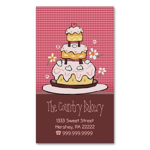 Bakery business cards bakery business cards bakery business and bakery business cards make your own business card with this great design all you need is to add your info to this template click the image to try it out reheart Choice Image