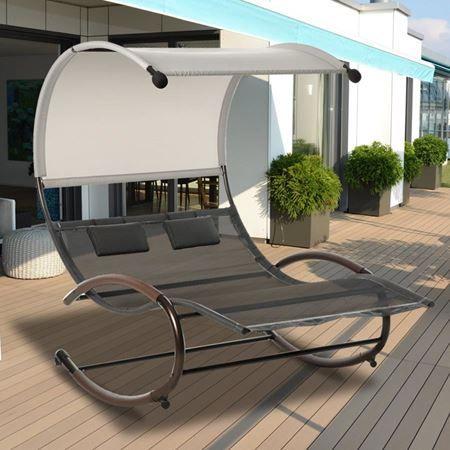 Lounge Schaukelliege Mit Bildern Schaukelliege Gartenstuhle Schaukel