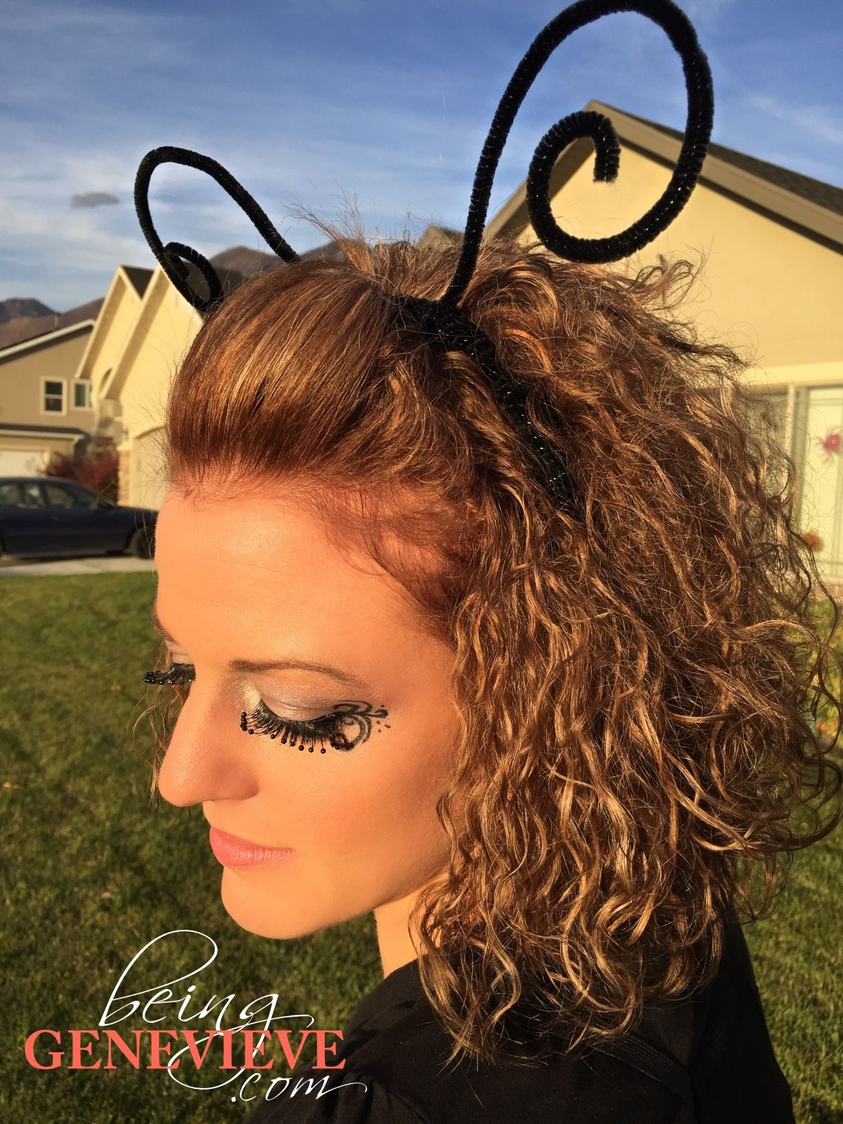 Butterfly Antennae Headband   Pinterest   DIY Halloween, Halloween ...